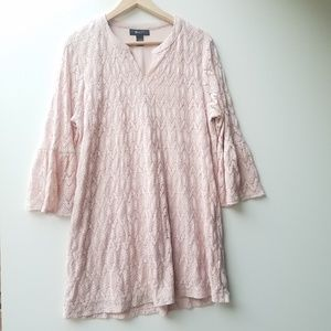 Style & Co Lace like material & print size Large